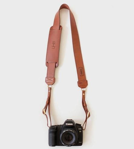 Custom James Leather Camera Strap /