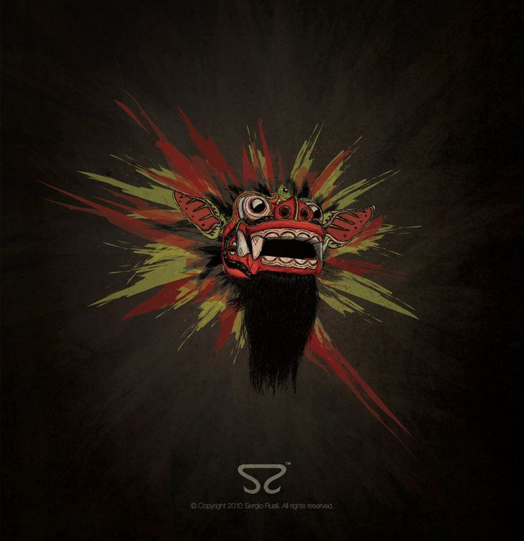 Barong - another abstract depiction I'm really into