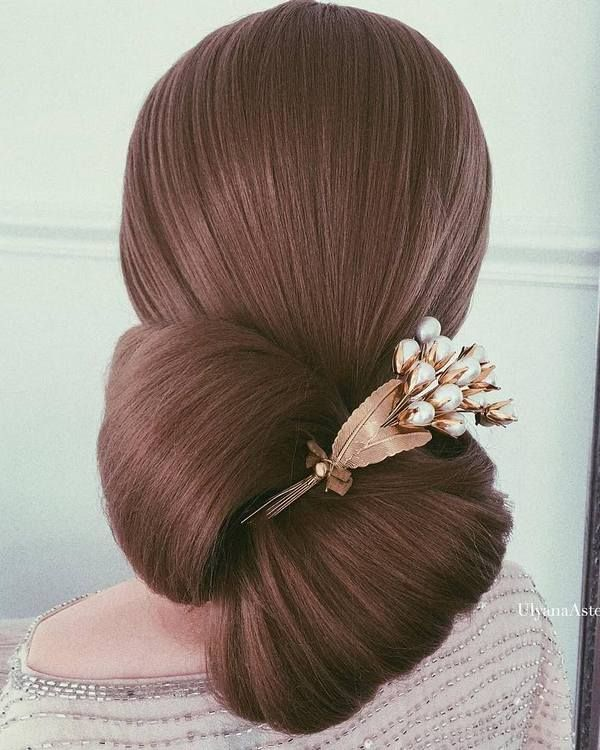 Wedding Updo Hairstyles for Long Hair from Ulyana Aster_30 ❤ See more: http://www.deerpearlflowers.com/wedding-updo-hairstyles-for-long-hair-from-ulyana-aster/2/