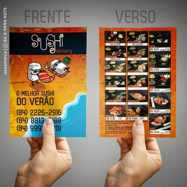 Flyer promocional de verão para Sushi Delivery.  #sushi #food #seafood #beach #praia #sun #sunset #summer #mar #verao #ferias #job #work #design #artdirection #flyer #flyers #banner #graphicdesign #graphic #inspire #inspiração #designinspiration #direcaodearte #delivery #artwork #nice #cool #follow