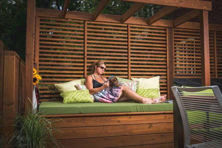 Image result for patio design piscine hors terre