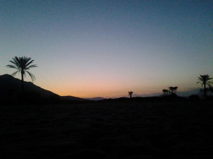 San Giovanni Beach at dawn...I am loving it.