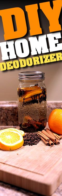 DIY Home Deodorizer!    A great alternative to store bought air fresheners!