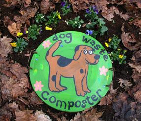 Not really a craft but something to consider if you have multiple dogs. Pet Waste Composting. There is also a link to City Farmer's Step-By-Step photo guide to making a dog waste composter in your back yard.