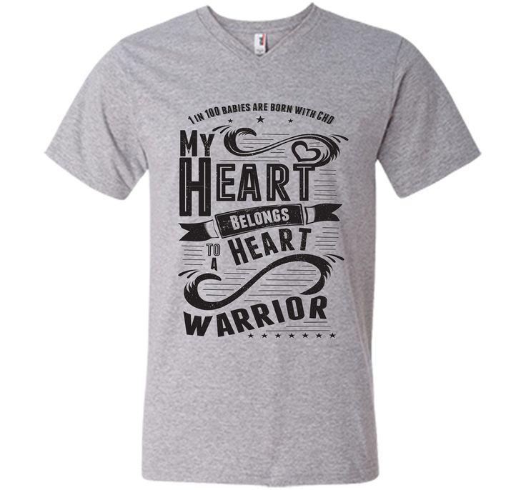 CHD Shirts - My Heart Belongs To A Heart Warrior T-Shirt