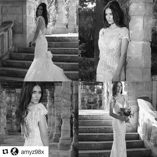 #Repost @amyz98x with @repostapp ・・・ Sneak peak at some of yesterday's beautiful dresses ☺️ #weddingbells #bridalcollection #farage #allsmiles  Make up by the lovely @gabriellegrungov Hair by the lovely @lindaroseknows Dresses by @annaromysh