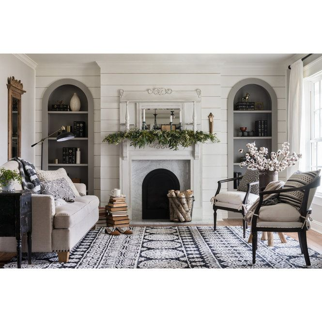 Magnolia Homes Interiors: Magnolia Home Lotus Rug - Floral In 2020