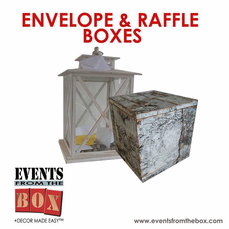 Envelope Money Box u0026 Raffle Box Rentals for all kinds of events weddings  sc 1 st  Pinterest & The 25+ best Raffle box ideas on Pinterest | Evans hanukkah ... Aboutintivar.Com