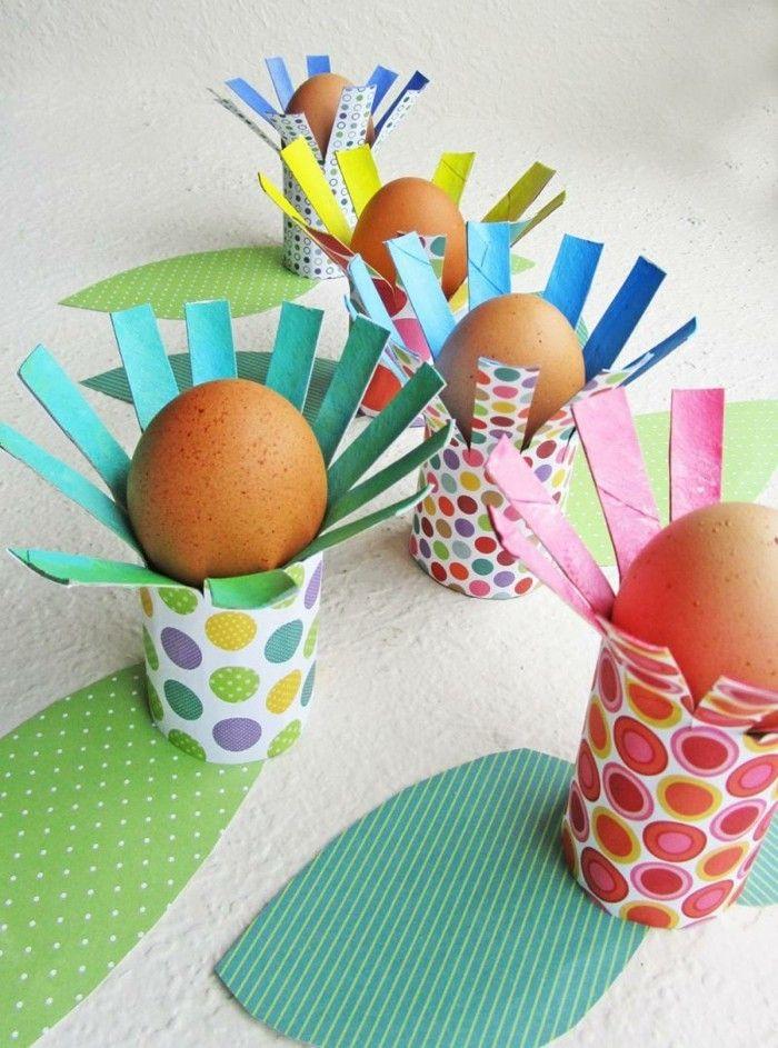 684 best 101 eastern eggs eastern decoration eastern ideas images on pinterest - Eierbecher selber basteln ...