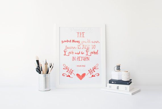 Inspirational Moulin Rouge Watercolour Print by PepperbelleTinkers