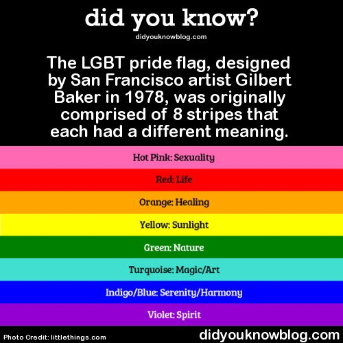 A Pictorial History Of The LGBT Pride FlagFirst popularized in the late 1970s, the rainbow flag is a pivotal symbol of the LGBT Rights Movement that began last century and continues today. Read...