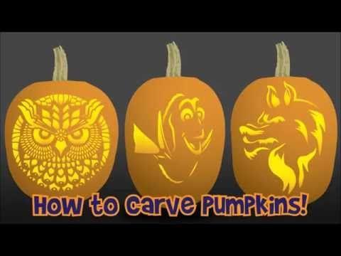 Pumpkin Stencils: Disney Pumpkin Carving Patterns - Woo! Jr. Kids Activities