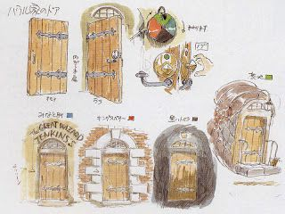 Entrance Door Howl Moving Castle Howls Moving Castle