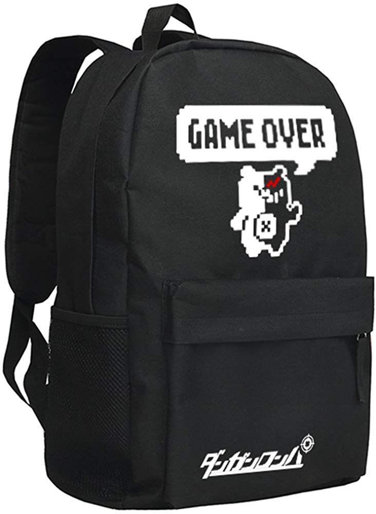 Danganronpa Oxford cloth Monokuma Laptop Backpack School Bag