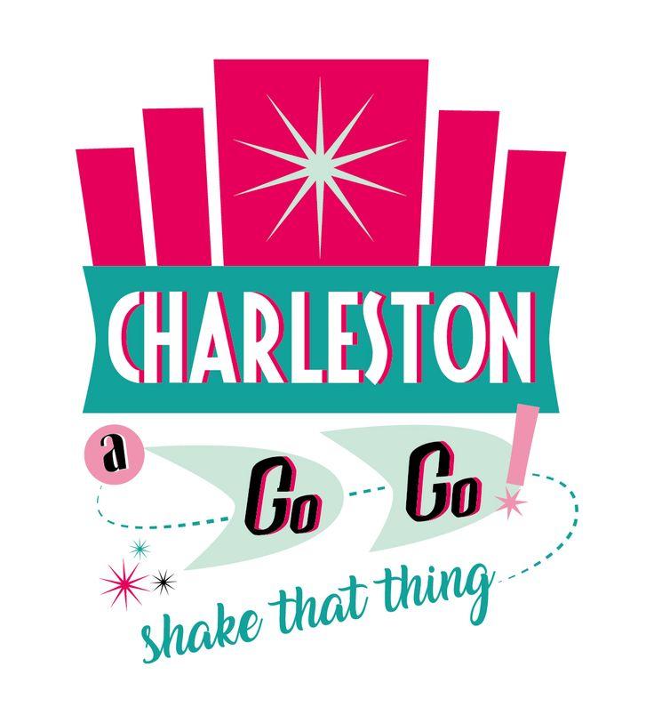 Charleston a Go-Go branding. copyright 2018 Caroline Thompson