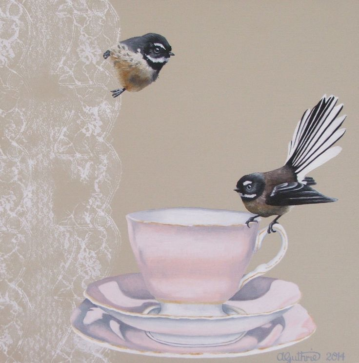 """Tea for Two"" For Sale at Gallerie Fine Art Gallery, Tauranga, NZ"