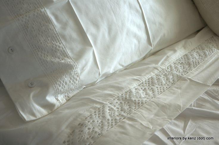 Ikea sheets...gotta get!  Thanks Kenz!