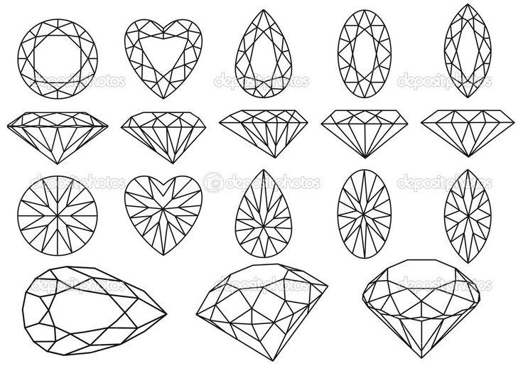 ilustracao pedra preciosa - Google Search