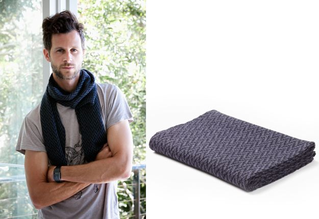 Zig Zag Cashllama scarf – Black/Grey by Cascada Eco Textiles, $71.50 - MoM loves this #fathers day gift idea, you can #win it at www.mouthsofmums.com.au in the huge fathers day hamper give away! closes 25/09/13