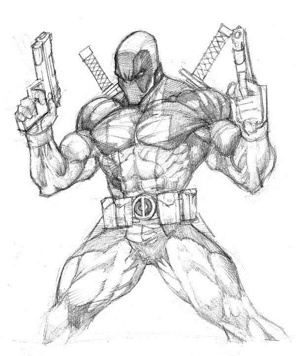 Marvel Deadpool Ausmalbilder Zum Ausdrucken: Iron Spider Coloring Pages Easy Coloring Pages