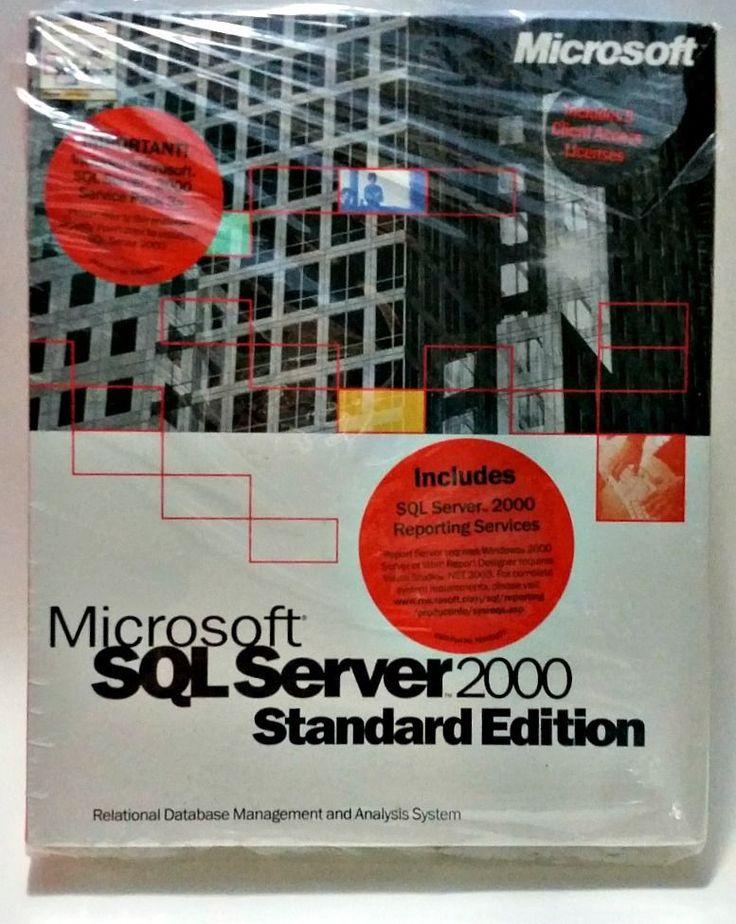 Microsoft SQL Server™ 2000 Standard Edition #Microsoft