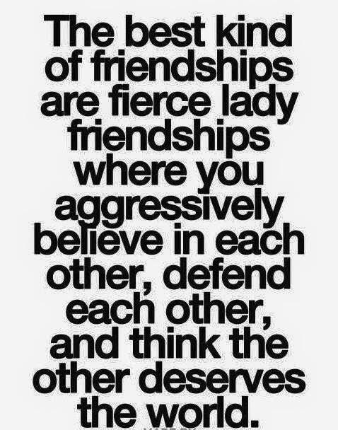 My friends are badass women.