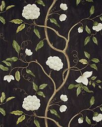 Snow Tree Black från Colefax & Fowler