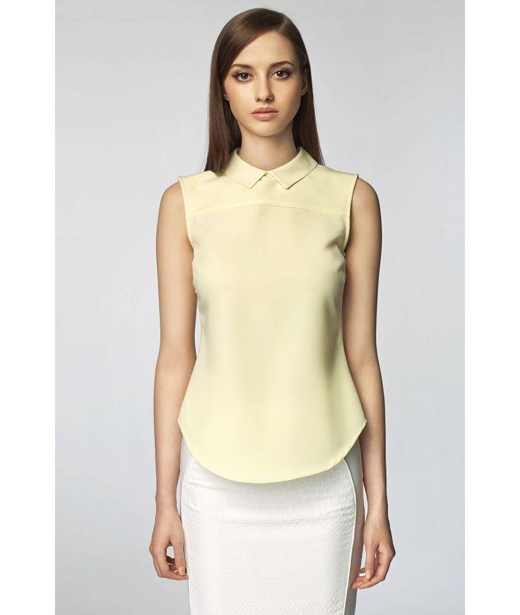 Bluză Isabela galbenă