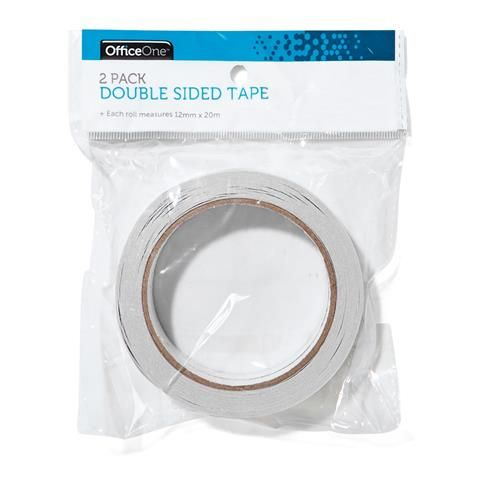 Double Sided Tape - Pack Of 2