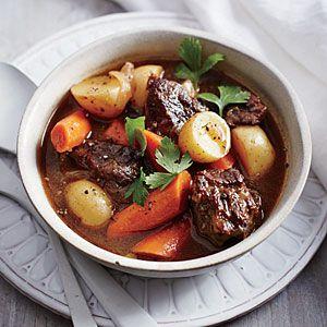 Classic Slow Cooker Beef Stew Recipe | MyRecipes.com