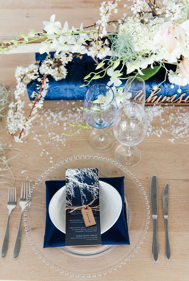 Enchanted Frost Winter Wedding Inspiration | SouthBound Bride | http://www.southboundbride.com/enchanted-frost-winter-wedding-inspiration | Credit: Debbie Lourens & Blank Canvas Event Design