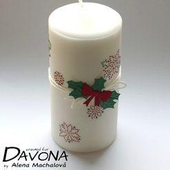 Vánoční svíčka pro babičku