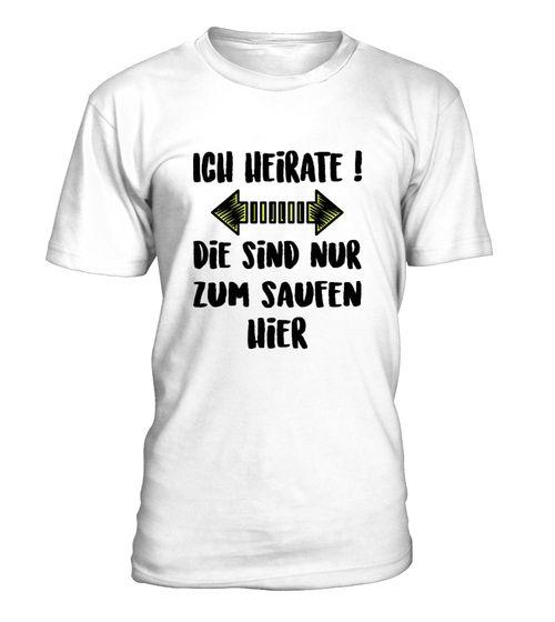 Junggesellenabschied Shirt (*Partner Link)