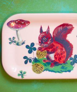 MINI BRICKA - Squirrel  www.theLovelyest.se
