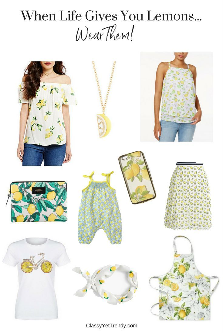 Add a few lemons to your wardrobe this Spring! Off the Shoulder Top Apron iPad Air Case Scarf Phone Case Pleated Skirt Romper Tiered Top Necklace Lemons are a trend this Spring! I've seen them on several retailer sites and what a fresh way to welcome Spring than by adding a few to your wardrobe!…