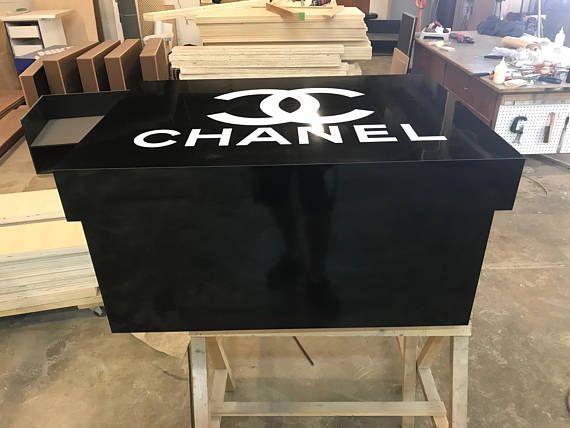 Custom CHANEL Inspired Giant Shoe Box Storage Purse Shoes