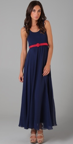 Finally, a flattering maxi dress for curvy girls..?: Colors Combos, Maxi Dresses, Curvy Girls, Tanks Dresses, Olivia Tanks, Dresses Red, Dress Red, Long Tanks, Alice Olivia