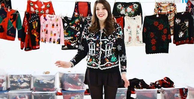 """""""So che sono pazza, sono la prima ad ammetterlo"""", dice candidamente questa ragazza. Che nel suo armadio ha una collezione incredibile: sono ben 350 i maglioni natalizi (alcuni orribili, altri..."""