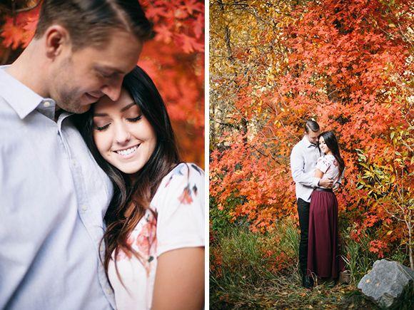 Autumn Engagement shoot by Shannon Elizabeth