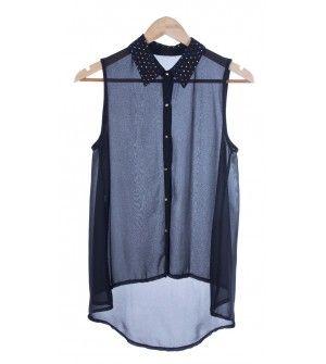 camisa strass