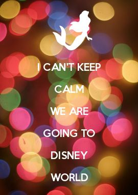 I CAN'T KEEP CALM WE ARE GOING TO DISNEY WORLD: going to start tonight working on our packing list... And going through all the stuff we have gotten already for our *Family vacation* :))