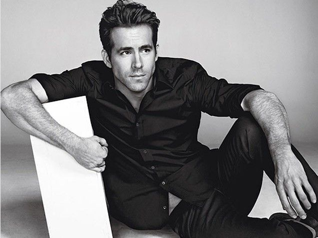 Ryan Reynolds♥ seriously husband, why are you so handsome? :)