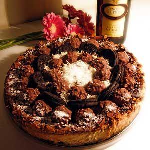 Рецепт выпекаемого торта Ферреро Роше
