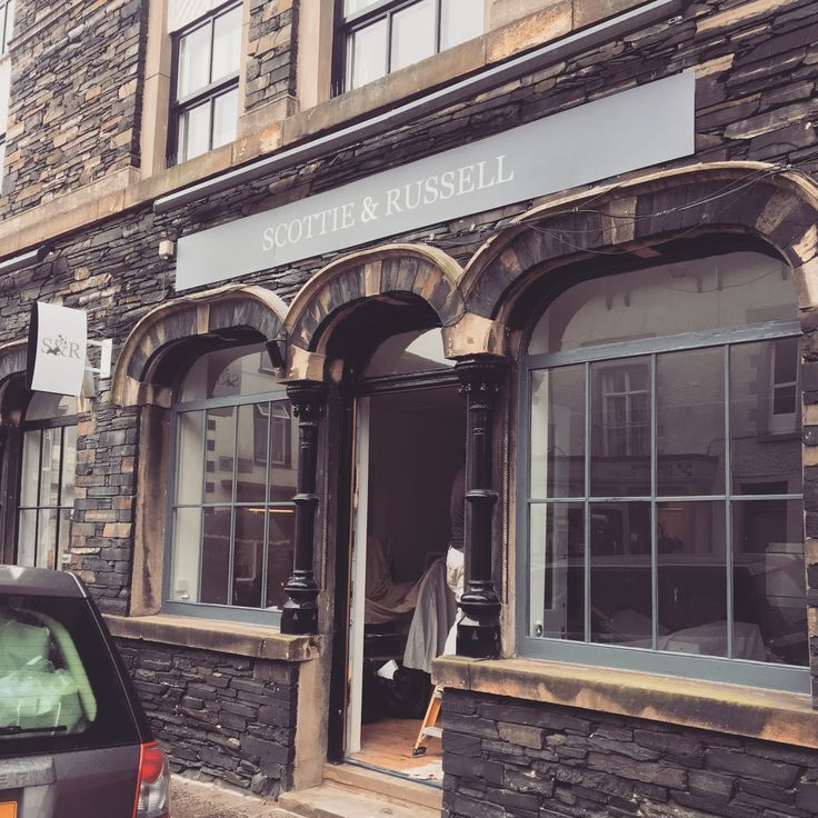 Our beautiful Scottie &a Russell flagship store is coming along nicely! We open on October 21st!
