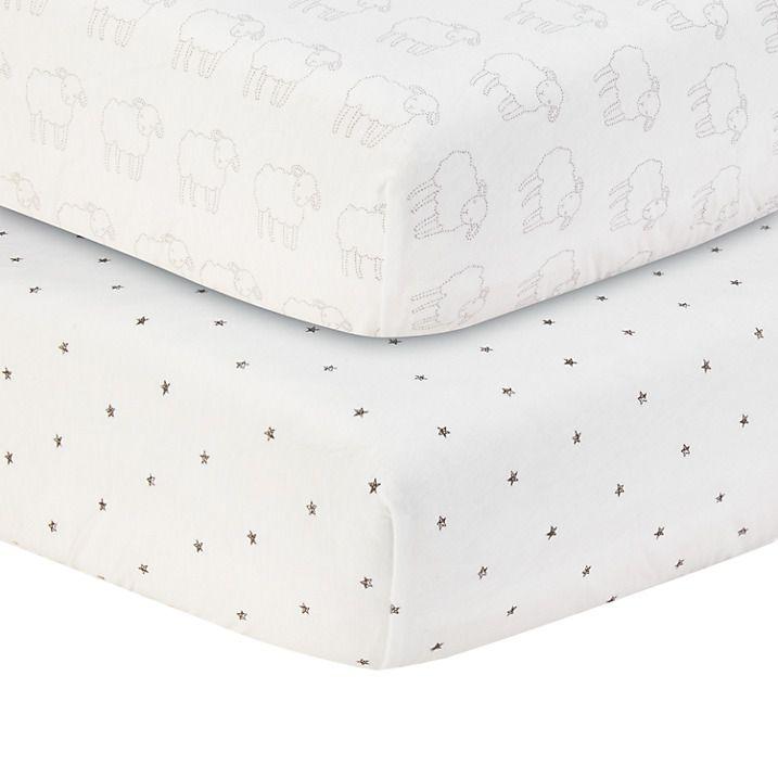 Star And Sheet Printed Ed Cot Bed Sheets 20
