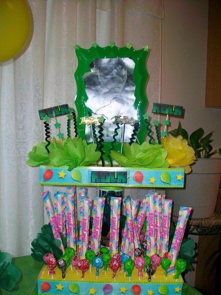 decoracion para fiestas infantiles de hulk buscar con google
