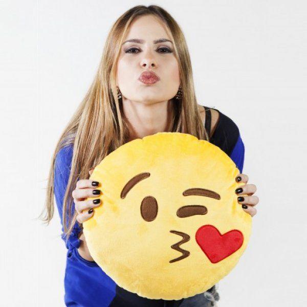 FofoStore » Almofadas Pelúcias Emojis - Palco Fashion