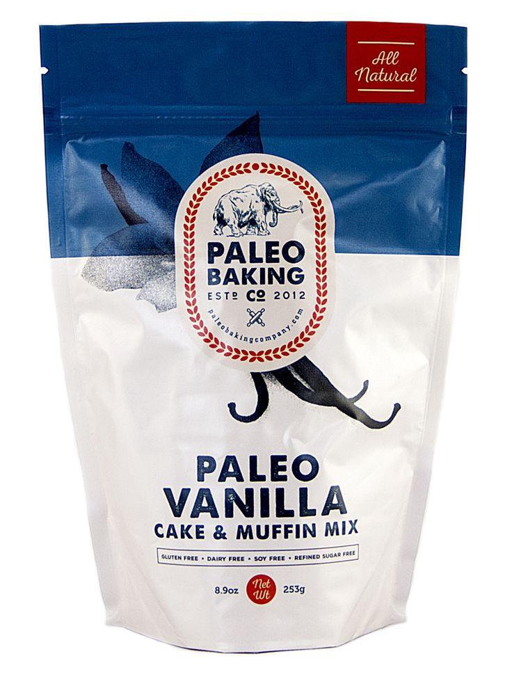 Paleo Vanilla Cake and Muffin Mix from Paleo Baking Company