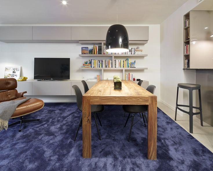 91 best salones images on pinterest interiors lounges for Decoracion cocina comedor