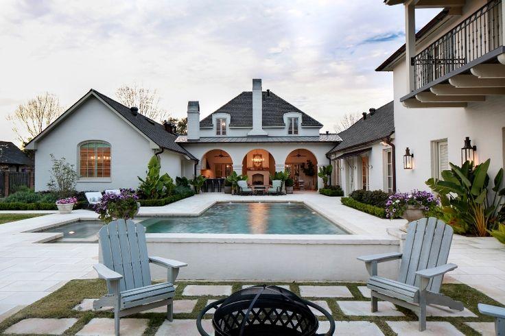 25 best custom homes images on pinterest custom homes for Custom home designs baton rouge